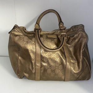 Gucci Boston bag in Gold